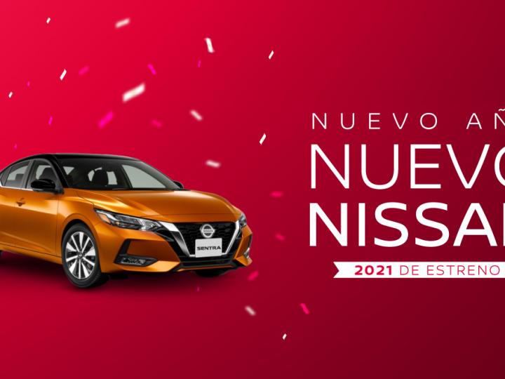 Nuevo año ¡Nuevo Nissan!