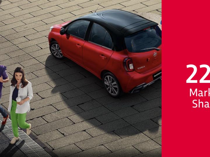 Con 22% de market share, Nissan continúa liderando la industria